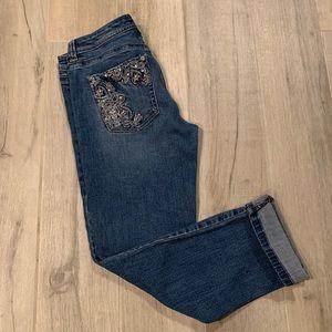 ☀️WHBM- Slim Crop Jeans